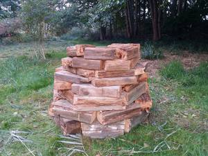 Old wood Stack